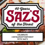 Saz's Is Turning 40!
