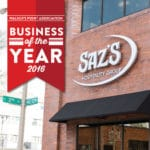 Saz's Awarded WPA Business Of The Year