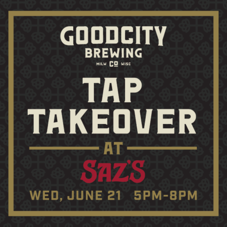 Good City Brewing Tap Takeover