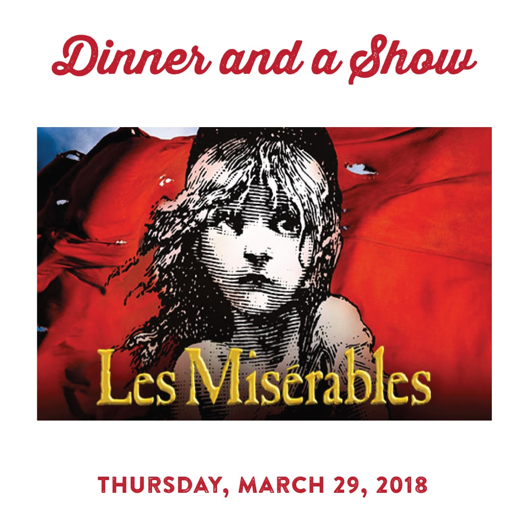 Les Miserables Dinner and a Show