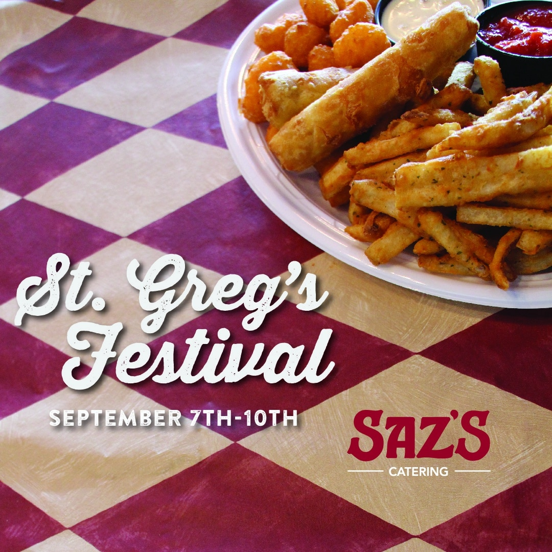Saz's At St. Greg's Fest