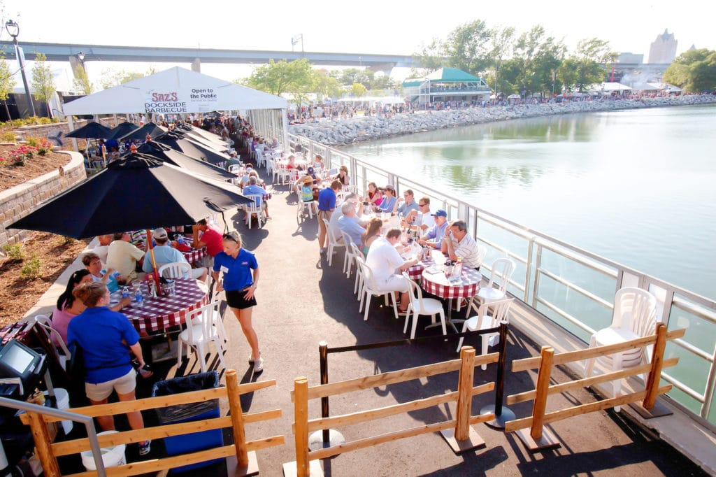 Saz's Dockside Barbecue at Summerfest